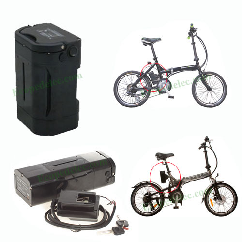 36V 9Ah Panasonic Lithium-Ion e-bike battery with multi-fit case